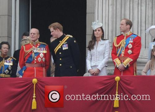 Duchess Of Cambridge, Prince Harry and Prince Phillip 7