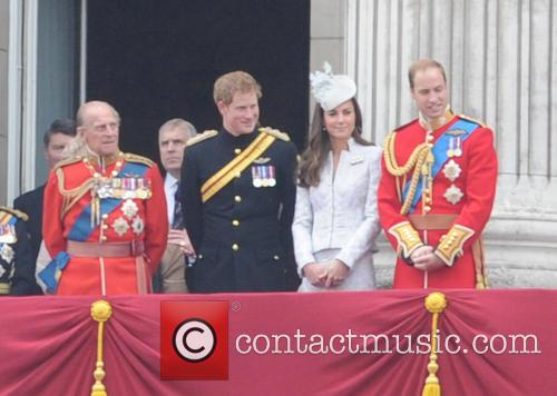 Duchess Of Cambridge, Prince Harry and Prince Phillip 9
