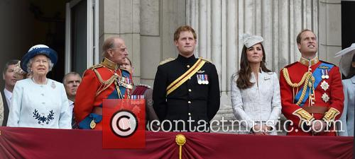 Duchess Of Cambridge, The Queen and Prince Harry 11