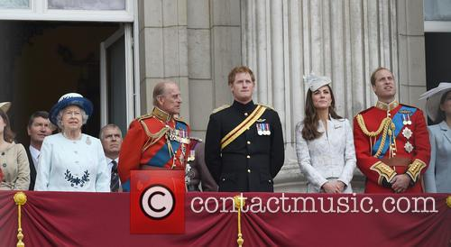 Duchess Of Cambridge, The Queen and Prince Harry 1