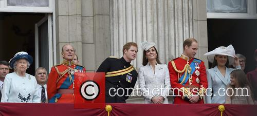 Prince Harry, Duchess Of Cambridge, The Queen and Duke Of Cambridge 8