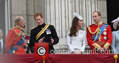 Prince Harry, Duchess Of Cambridge, The Queen and Duke Of Cambridge 10