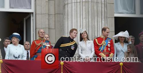 Prince Harry, Duchess Of Cambridge, The Queen and Duke Of Cambridge 11