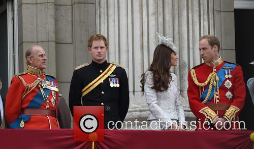 Prince Harry, Duchess Of Cambridge, The Queen and Duke Of Cambridge 1