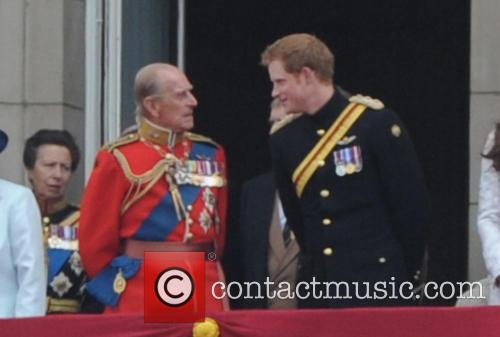 Prince Harry, Prince Philip, Duke Of Edinburgh, Anne and Princess Royal 7