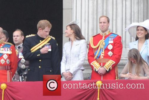 Prince William, Duke Of Cambridge, Prince Harry and The Duchess Of Cambridge 7