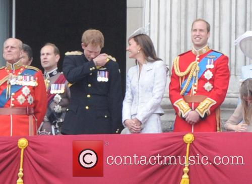 The Duchess Of Cambridge, Prince Harry, Prince William and Duke Of Cambridge 1
