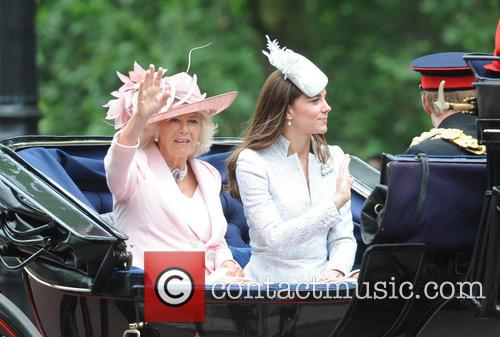 Duchess Of Cambridge, Prince Harry, Camilla and Duchess Of Cornwall 4