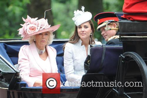 Duchess Of Cambridge, Prince Harry, Camilla and Duchess Of Cornwall 5