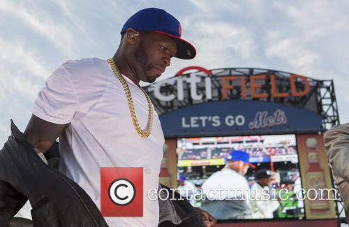50 Cent performs live at Citi Field