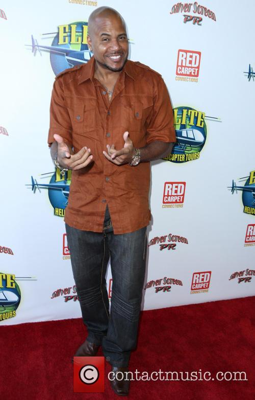 Lorenzo Lamas Elite Helicopter Tours launch party