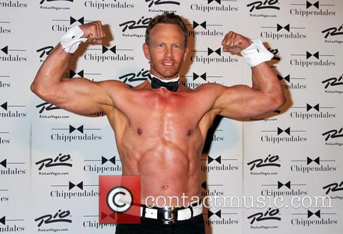 Ian Ziering returns to the Chippendales