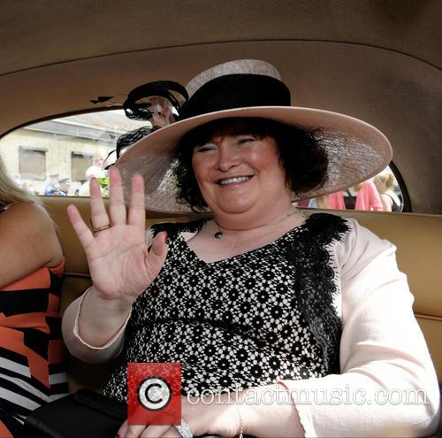 Susan Boyle attends her local Children's Gala Day