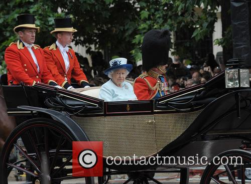Trooping the Colour 2014 Procession
