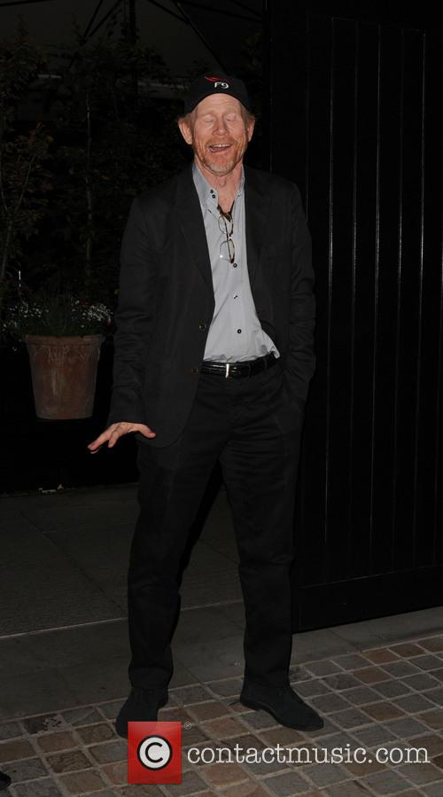 ron howard celebrities at chiltern firehouse 4245187