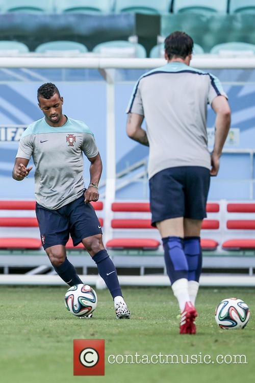 Treino da Portugal - Copa do Mundo -...