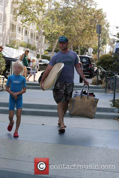 Naomi Watts and husband Liev Schreiber spend Fathers...