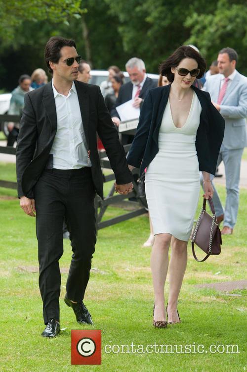John Dineen and Michelle Dockery 1