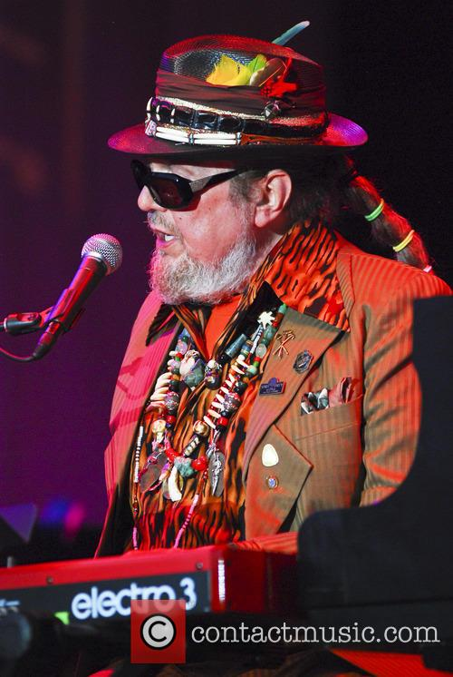 Dr. John performs at the 'Chicago Blues Festival'