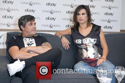 Alejandro Sanz and Raquel Perera 3