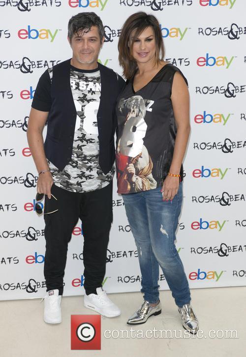 Alejandro Sanz and Raquel Perera 4