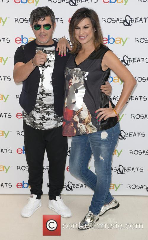 Alejandro Sanz and Raquel Perera 5