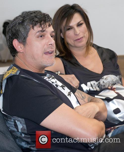 Alejandro Sanz and Raquel Perera 6