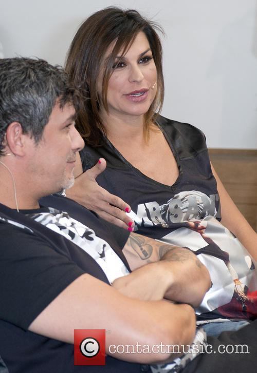 Alejandro Sanz and Raquel Perera 7