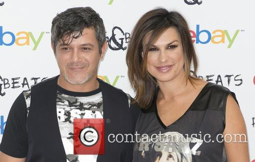 Alejandro Sanz and Raquel Perera 8