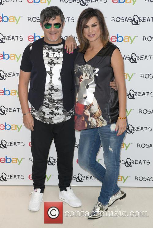 Alejandro Sanz and Raquel Perera 9
