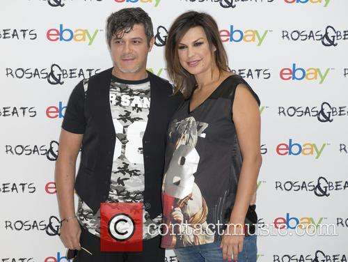 Alejandro Sanz and Raquel Perera 11
