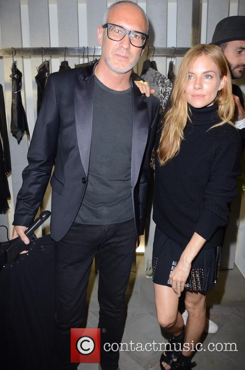Sienna Miller and And Guest 4