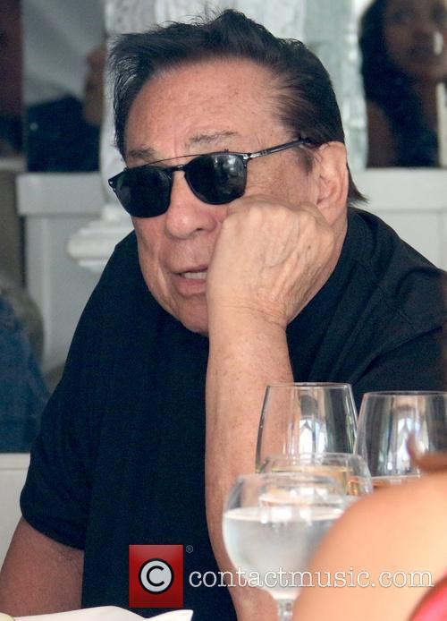 Donald Sterling at Villa Blanca
