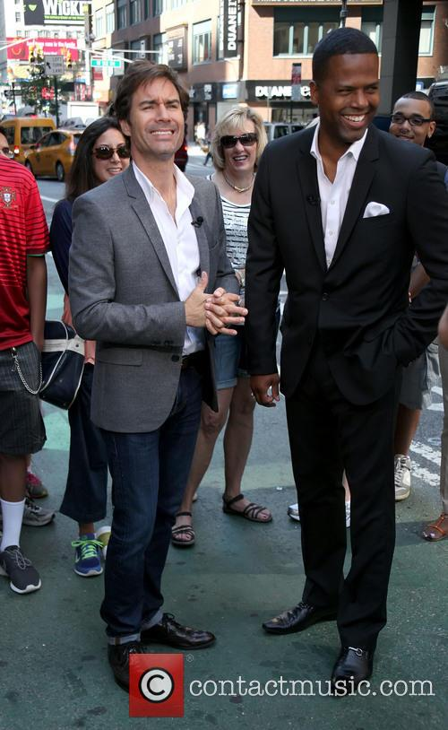 Eric Mccormack and A.j. Calloway 4