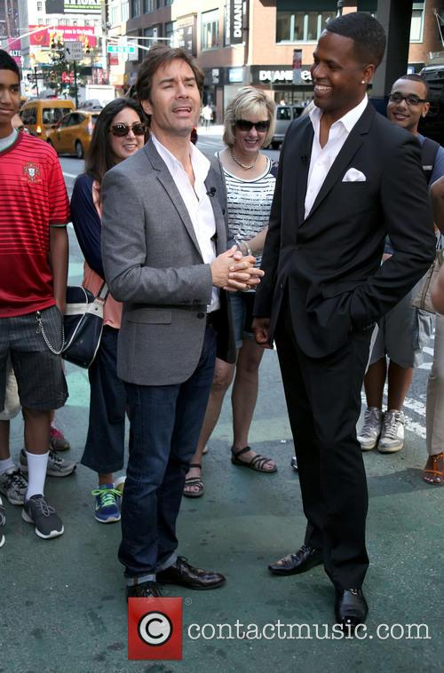 Eric Mccormack and A.j. Calloway 8
