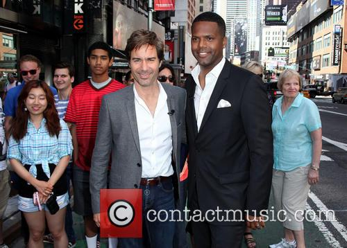 Eric McCormack and A.J. Calloway 11