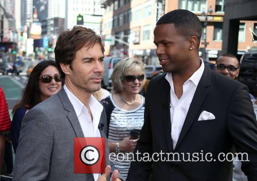 Eric McCormack and A.J. Calloway 12