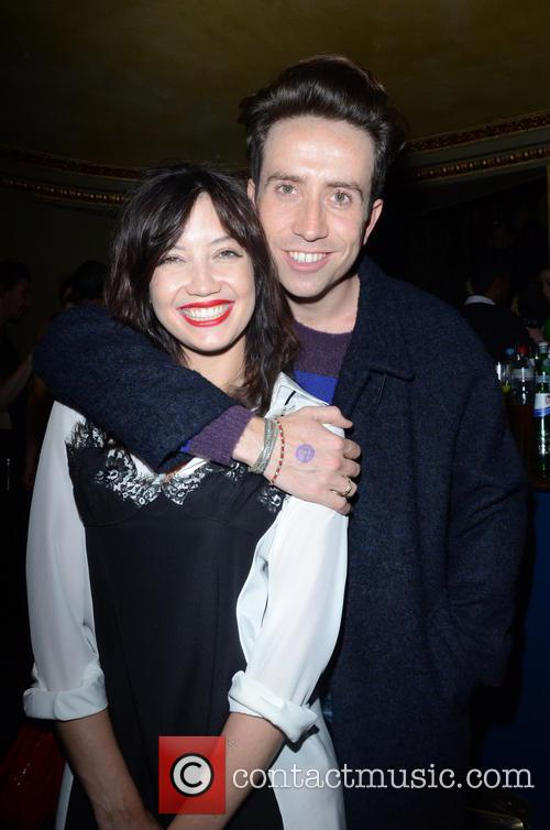 Daisy Lowe and Nick Grimshaw 2