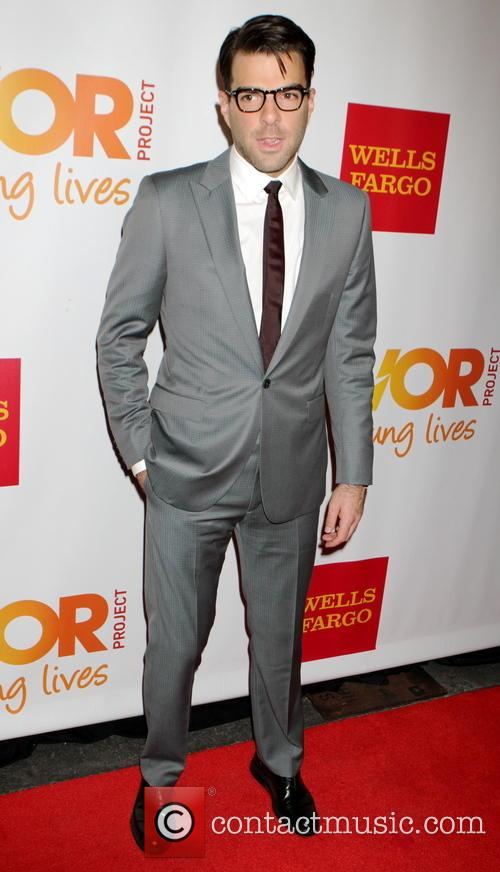 Zachary Quinto, Marriot Marquis at Times Square