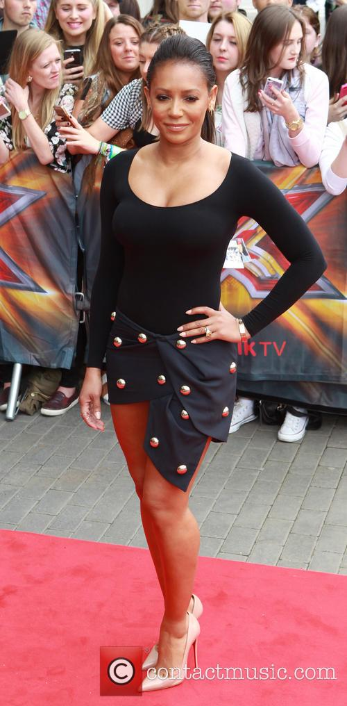 Mel B X Factor Auditions Manchester 9 Pictures