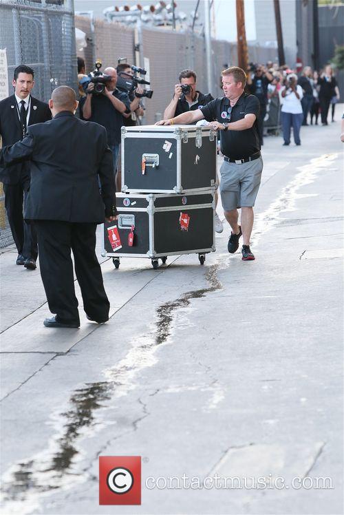 Stanley Cup winners LA Kings arrive at Jimmy...