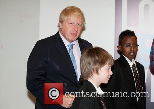 Boris Johnson and Michael Bloomberg