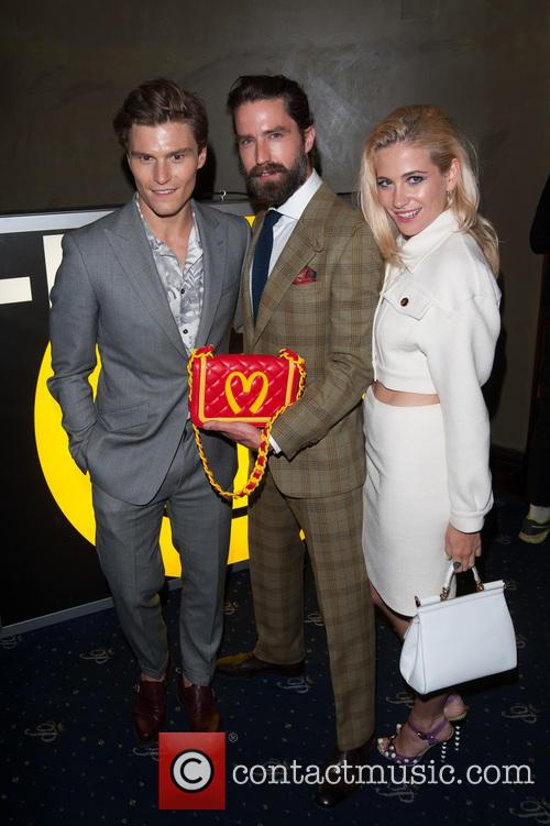 Oliver Cheshire, Pixie Lott and Jack Guinness 2
