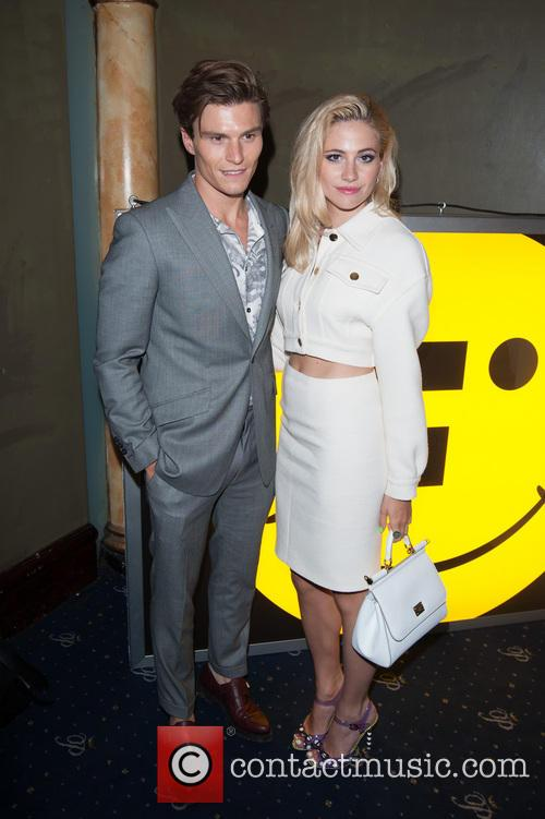 Oliver Cheshire and Pixie Lott 1