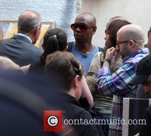 Dave Chappelle spotted in the crowd during Little...