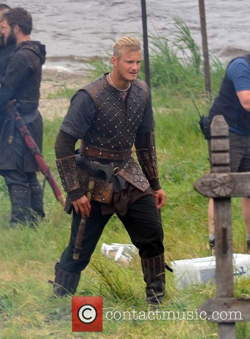Filming takes place on Season 3 of 'Vikings'