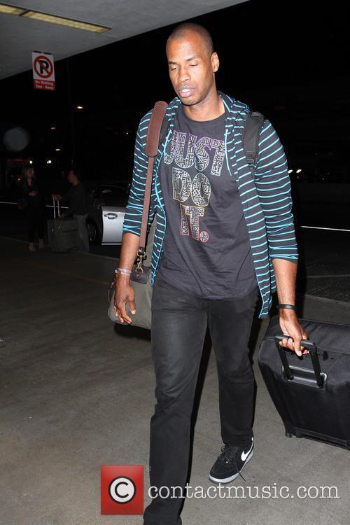 Jason Collins at Los Angeles International Airport (LAX)