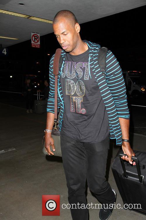 Jason Collins at Los Angeles International Airport (LAX)