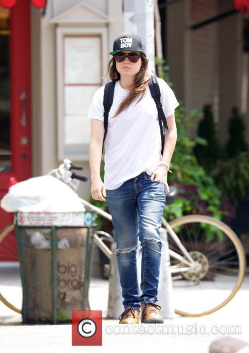 Ellen Page spotted in the East Village
