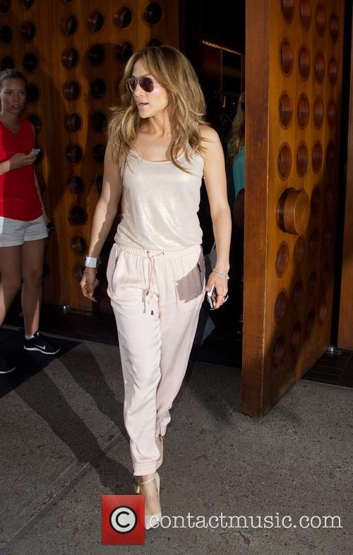 Jennifer Lopez spotted in New York